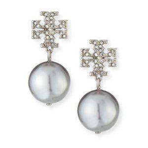 🔥Tory Burch logo earrings